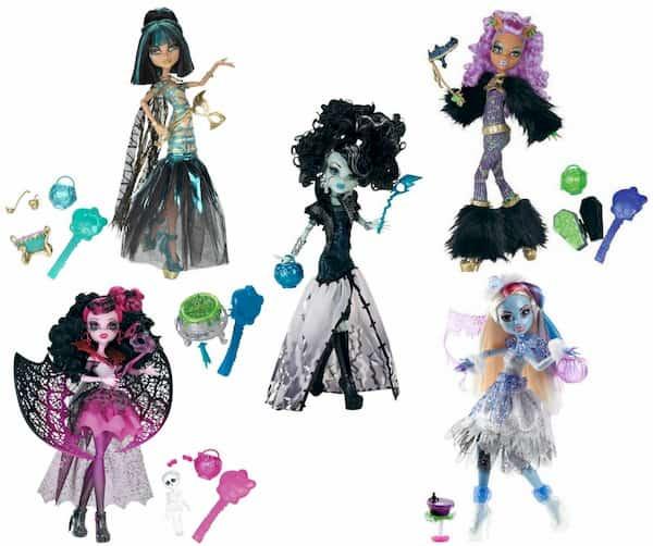 Ghouls Rule Doll Assortment: A Cool Monster High Halloween Set
